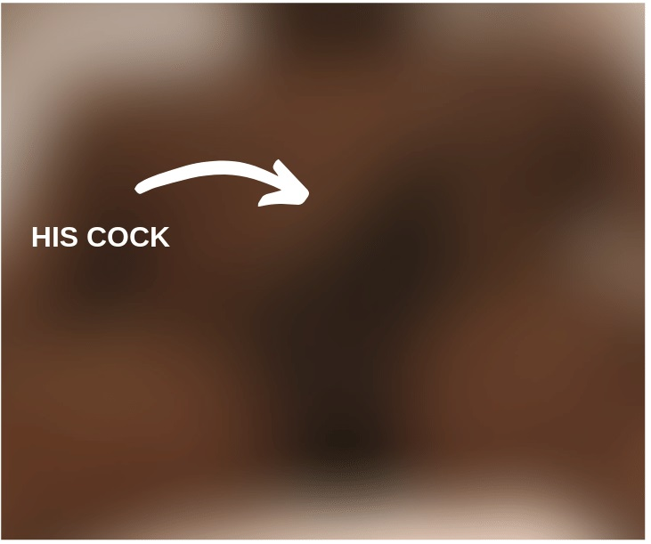 blurred selfie of black man