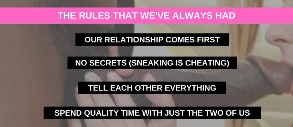 list of cuckold rules