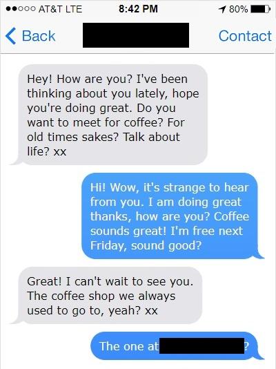 romantic texts to my boyfriend