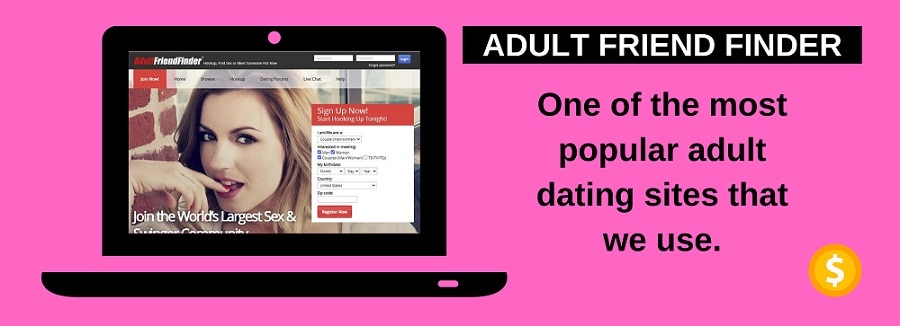 screenshot of adult friend finder