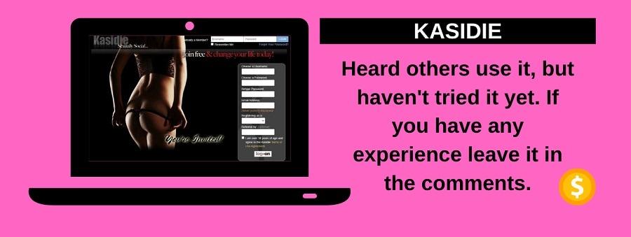 screenshot of kasidie