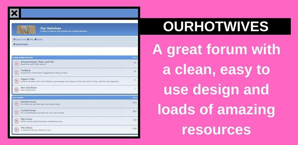 ourhotwives website screenshot