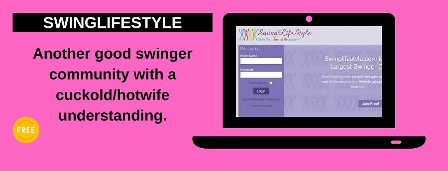screenshot of swinglifestyle website
