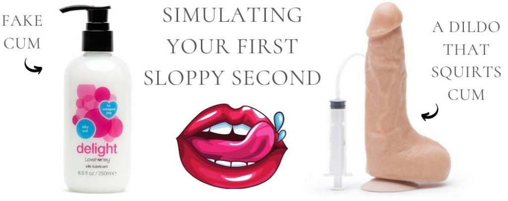 things to use for simulating sloppy seconds